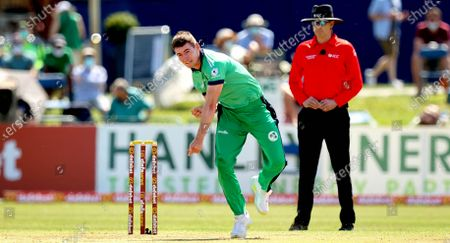 Ireland vs South Africa. IrelandÕs Josh Little