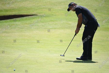 Editorial photo of Golf The Open 2021 -  Second Round, Sandwich, United Kingdom - 16 Jul 2021