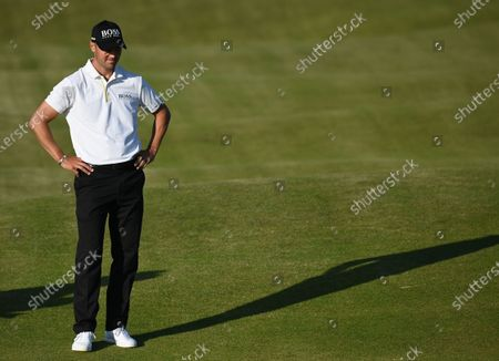 Martin Kaymer of Germany in action on the fourteenth hole during the 2nd round of The Open 2021 golf championship at Royal St George's golf course in Sandwich, Kent, Britain, 16 July 2021.