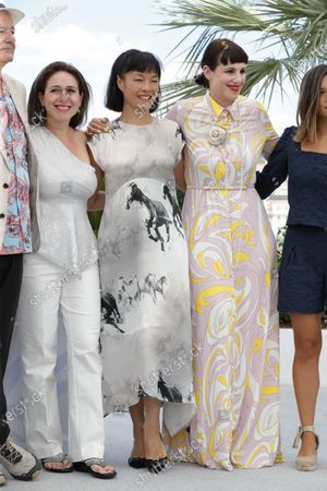 Vanessa Perez, Mira Wang and  Tanja Dorn