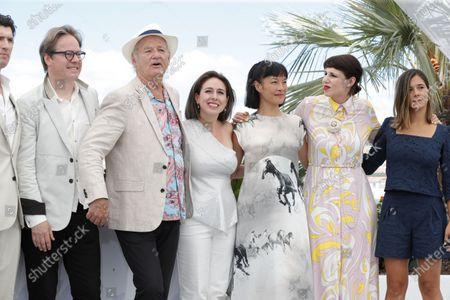 Stock Picture of Jan Vogler, Bill Murray, Vanessa Perez, Mira Wang, Tanja Dorn and Emma Doxiadi