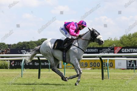 CASE KEY (1) ridden by Frederick Larson and trained by Michael Appleby winning The Mansionbet Watch And Bet Handicap Stakes over 6f (£5,527)  at Nottingham Racecourse, Nottingham
