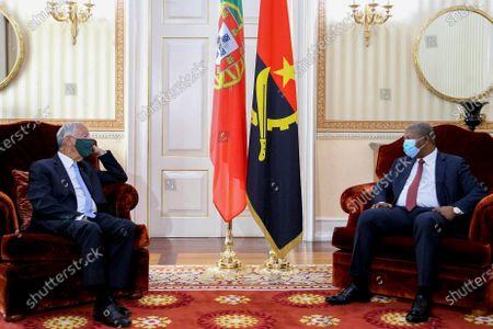 Editorial photo of Portuguese President Marcelo Rebelo de Sousa in Luanda, Angola - 16 Jul 2021