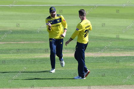 Editorial photo of Hampshire County Cricket Club v Essex County Cricket Club, Vitality T20 Blast South Group - 16 Jul 2021