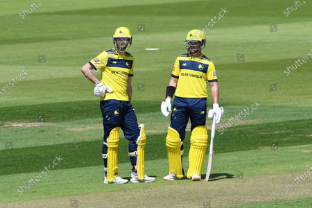 Editorial picture of Hampshire County Cricket Club v Essex County Cricket Club, Vitality T20 Blast South Group - 16 Jul 2021
