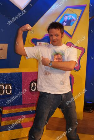FILTHY FACTS 2010 - T0XIX Pictured - GMTV Toonattik Presenter Jamie Rickers has never washed his favourite T-Shirt