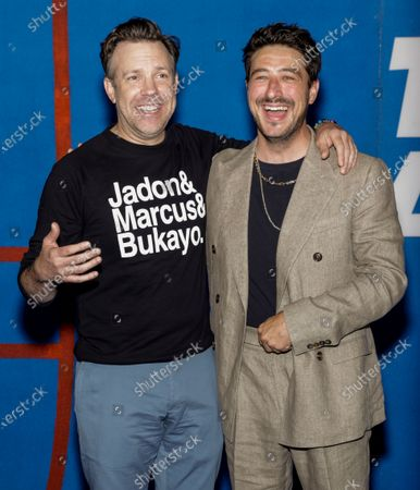 Stock Picture of Jason Sudeikis and Marcus Mumford