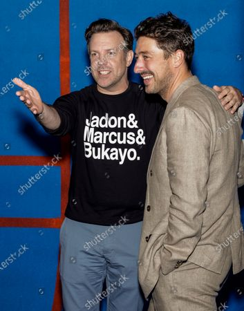 Jason Sudeikis and Marcus Mumford