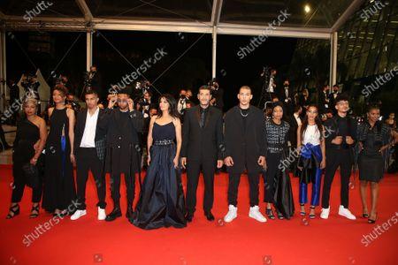 Sofia Akhmisse, Amina Kannan, Mehdi Razzouk, Ismail Adouab, Maryam Touzani, Nabil Ayouch, Anas Basbousi, Meriem Nakkach, Nouhaila Arif, Abdelilah Basbousi and Samah Barigou