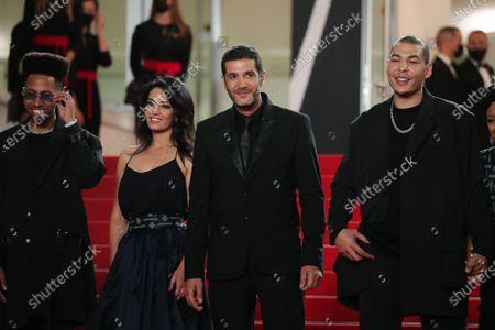 Stock Picture of Ismail Adouab, Mehdi Razzouk, Maryam Touzani, Nabil Ayouch, Anas Basbousi