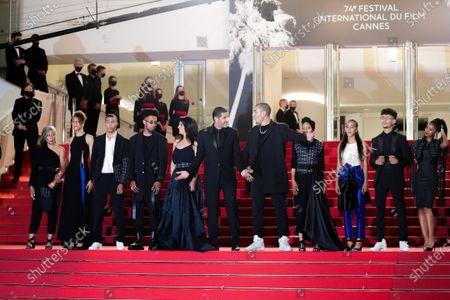 Sofia Akhmisse, Amina Kannan, Ismail Adouab, Mehdi Razzouk, Maryam Touzani, Nabil Ayouch, Anas Basbousi, Meriem Nakkach, Nouhaila Arif, Abdelilah Basbousi and Samah Barigou