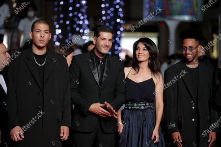 Stock Image of Anas Basbousi, Nabil Ayouch, Maryam Touzani and Ismail Adouab