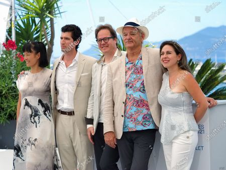 (L to R) Mira Wang, Director Andrew Muscato, Jan Vogler, Bill Murray and Vanessa Perez