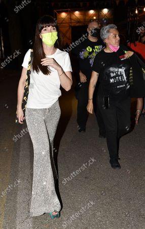Editorial picture of Victoria Cabello and Cathy La Torre arrive at Padova Pride Village, Italy - 09 Jul 2021