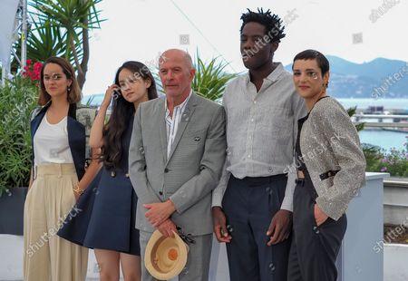 Noemie Merlant, Lucie Zhang, Jacques Audiard, Makita Samba, Jenny Beth