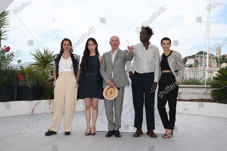 Noemie Merlant, Lucie Zhang, Jacques Audiard, Makita Samba, Jehnny Beth