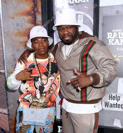 Mekai Curtis and 50 Cent