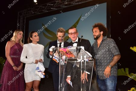 Michel Moawad, Kiera Chaplin, Manuel Collas De La Roche, Clarisse Alves, Marcelo Vieira Junior,.