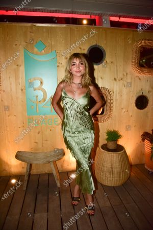 Editorial picture of Soon Magazine beach party, Cannes, France - 11 Jul 2021