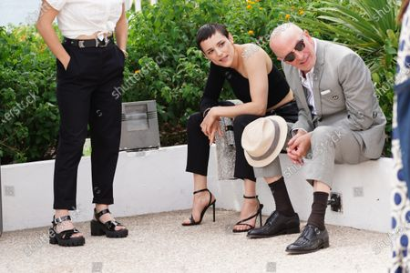 Jehnny Beth and Jacques Audiard