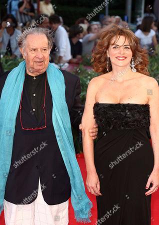 Stock Photo of Tinto Brass and Caterina Varzi