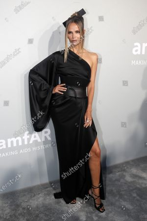 Natasha Poly attends the Cinema Against AIDS amfAR gala 2021 held at the Hotel du Cap, Eden Roc in Cap d'Antibes, France, 16 July 2021, within the scope of the 74th annual Cannes Film Festival.