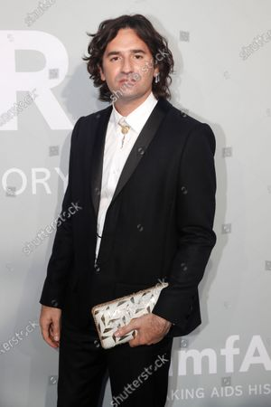 Nicolas Maury attends the Cinema Against AIDS amfAR gala 2021 held at the Hotel du Cap, Eden Roc in Cap d'Antibes, France, 16 July 2021, within the scope of the 74th annual Cannes Film Festival.