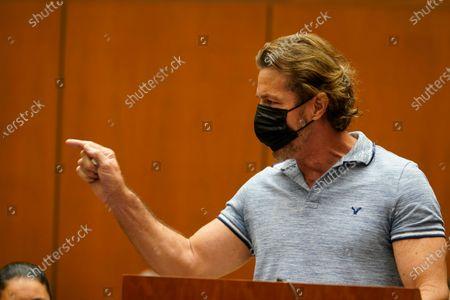 Editorial photo of Serial Killings Trial, Los Angeles, United States - 16 Jul 2021