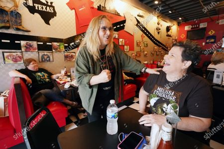 Editorial picture of Singer Melissa Etheridge Stops At Cathy's Kitchen For Lunch, Ferguson, Missouri, United States - 16 Jul 2021