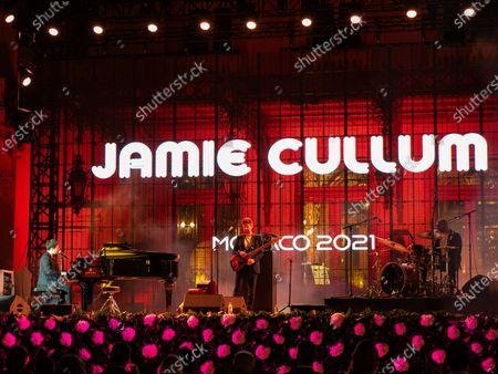 Pop jazz singer Jamie Cullum