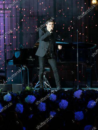 Stock Image of Pop jazz singer Jamie Cullum