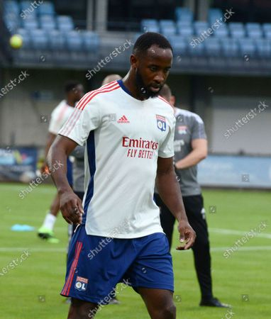 Moussa DEMBELE during the Friendly match between French L1 Olympique Lyonnais (OL) and Bourg-Peronnas National, on July 10, 2021 at the Rajon Bourgoin jallieu Stadium.