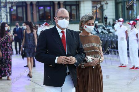 Prince Albert II of Monaco and Princess Caroline of Hanover