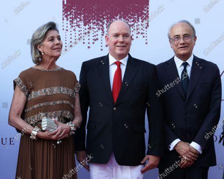 Princess Caroline of Hanover and Prince Albert II of Monaco