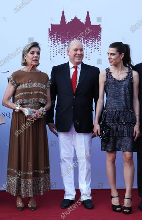 Princess Caroline of Hanover, Prince Albert II of Monaco, Charlotte Casiraghi Rassam