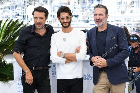 Nicolas Bedos, Pierre Niney and Jean Dujardin