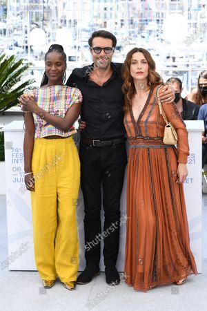 Fatou N'Diaye, Nicolas Bedos and Natacha Lindinger