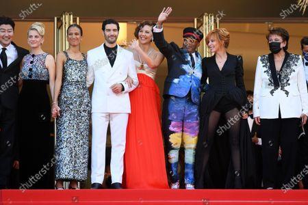 Song Kang-Ho, Melanie Laurent, Mati Diop, Tahar Rahim, Maggie Gyllenhaal, Spike Lee and Mylene Farmer