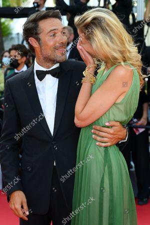 Nicolas Bedos and Pauline Desmonts