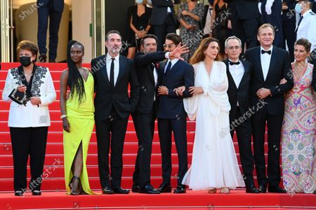 Editorial photo of 'OSS 117: From Africa with Love' premiere and Closing Ceremony, 74th Cannes Film Festival, France - 17 Jul 2021