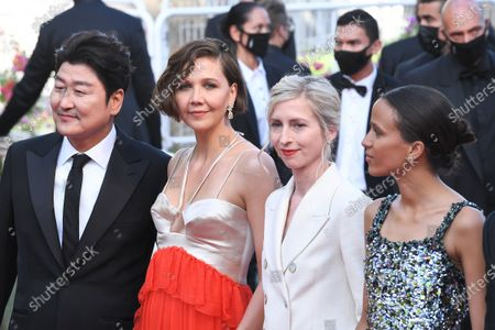 Stock Photo of Song Kang-Ho, Maggie Gyllenhaal, Jessica Hausner and Mati Diop