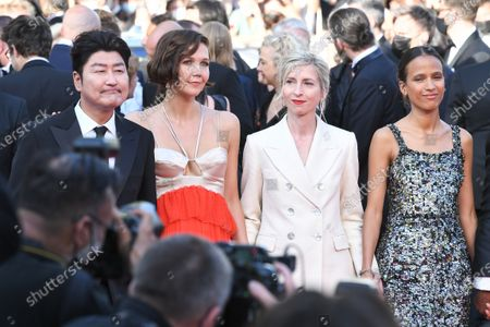 Song Kang-Ho, Maggie Gyllenhaal, Jessica Hausner and Mati Diop