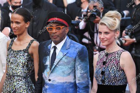 Mati Diop, Spike Lee and Melanie Laurent
