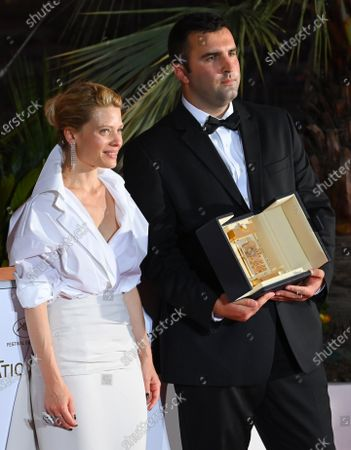 Stock Photo of Melanie Thierry and Frank Graziano