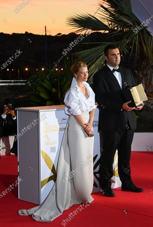 Editorial photo of Winners' photocall, 74th Cannes Film Festival, France - 17 Jul 2021