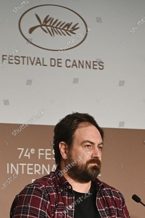 Justin Kurzel attends the press conference for 'Nitram' during the 74th annual Cannes Film Festival, in Cannes, France, 17 July 2021. The movie is presented in the Official Competition of the festival which runs from 06 to 17 July.