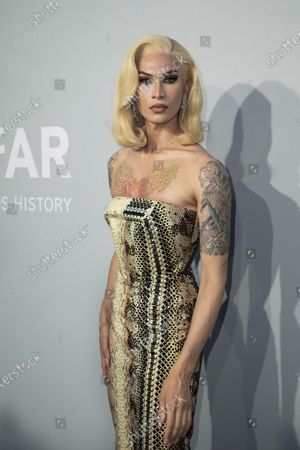 Editorial picture of 2021 amfAR Arrivals, Cannes, France - 16 Jul 2021