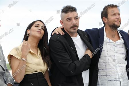 Leila Bekhti, Damien Bonnard and Joachim Lafosse