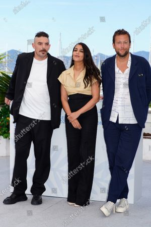 Damien Bonnard, Leila Bekhti and Joachim Lafosse