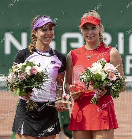 Editorial photo of Hungarian Ladies Open, Budapest, Hungary - 17 Jul 2021